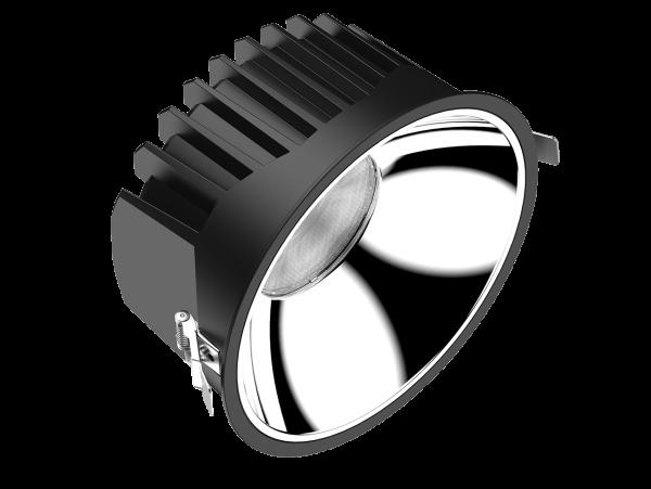 Endurance 20S LED Downlight / Reflektor in matt silber oder chrom