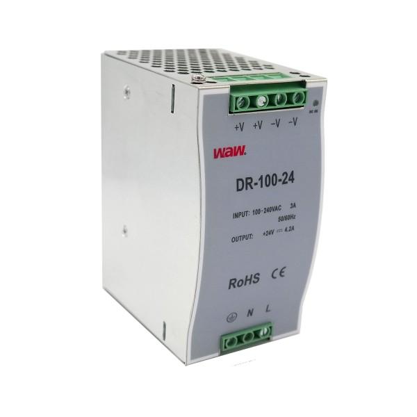 WAW Hutschienen Netzteil DIN RAIL 24V - 100W