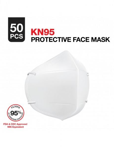 KN95 Schutzmaske mit Partikelfilter (GB2626-2006) 10er Pack