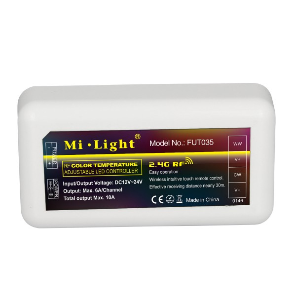 Mi-Light Smart Home Funkempfänger/Dimmer CCT FUT035