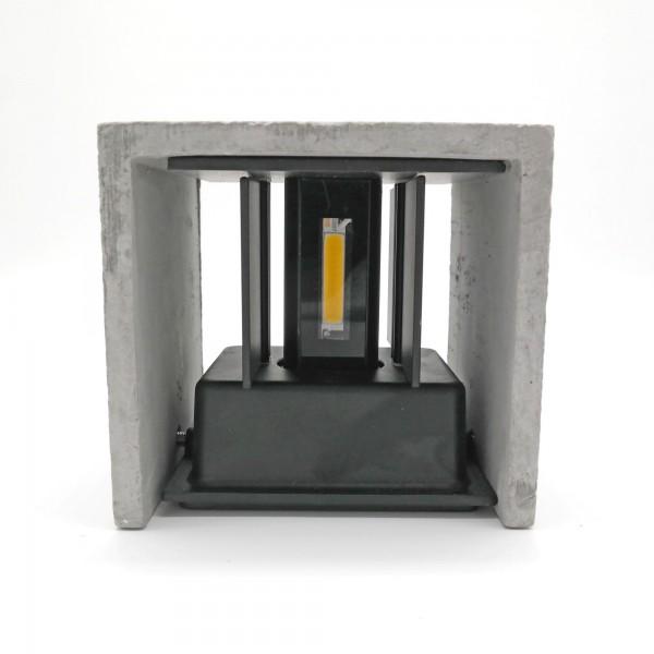 LClux Twin LED Cube Concrete