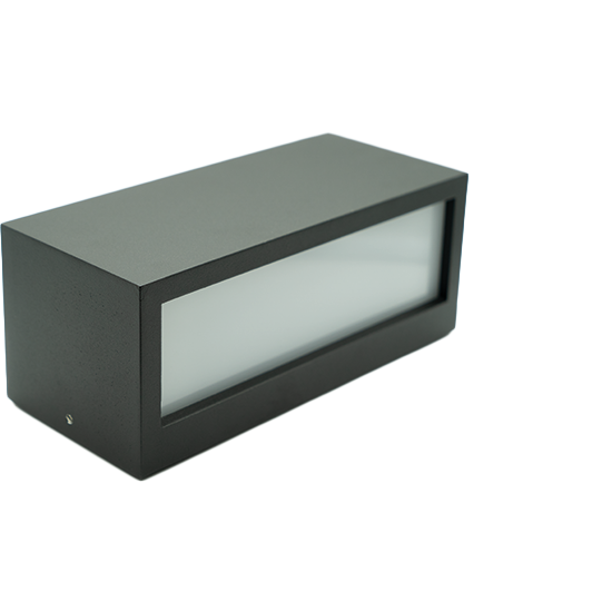 LClux® BEGARUS Square Outdoor LED; Up & Down Wandleuchte